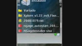 Instalar N-GAGE en Nokia N73