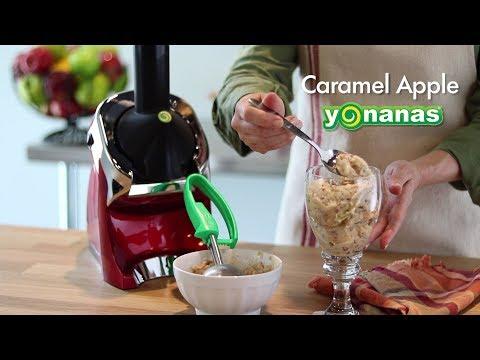 Caramel Apple Yonanas Recipe