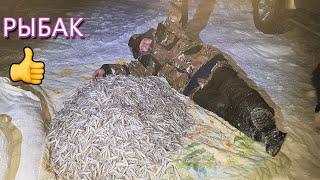 Зимняя рыбалка на Амуре С ночевкой