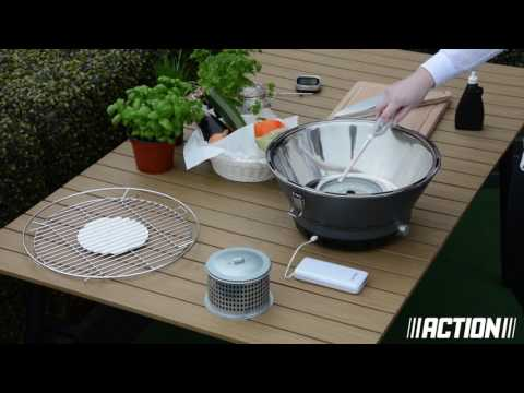 rauchfreier bbq grill hnlich lotus grill f r 29 95. Black Bedroom Furniture Sets. Home Design Ideas