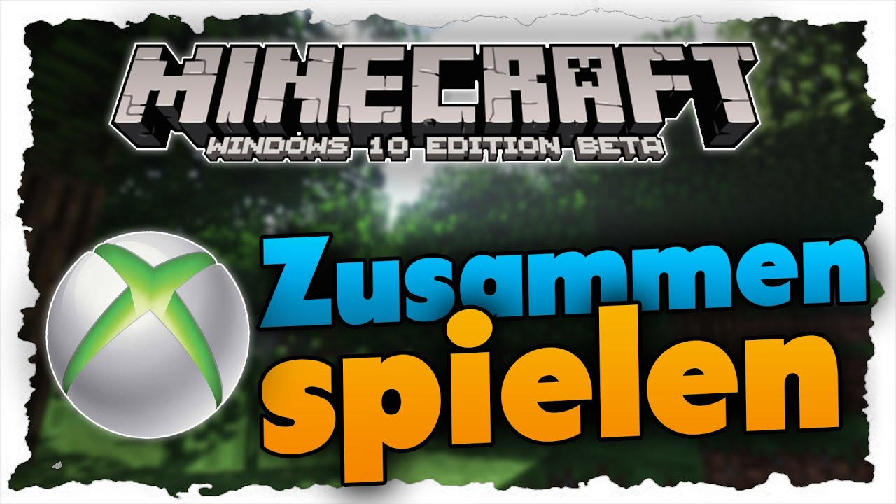 Minecraft Windows Edition Server Erstellen Tutorial - Minecraft gemeinsam spielen