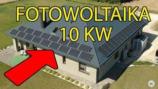 Panele słoneczne 10 KW | FOTOWOLTAIKA po roku użytkowania - jak to działa, czy to się opłaca?