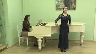 Пригарина Вероника академический вокал соло категория Б 13-15 лет