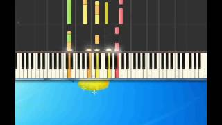 Diary   Bread [Piano tutorial by Synthesia]