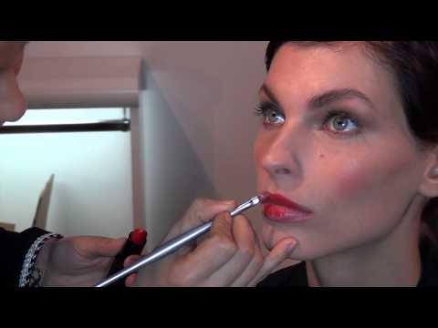 Maquillage Rouge Orangé