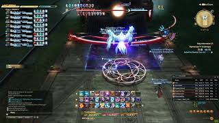 FFXIV - O5S Clear Black Mage Perspective