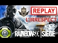 En route vers l'irrespect 😈 - Match classé - Rainbow Six Siege FR - Replay du 04.02.17