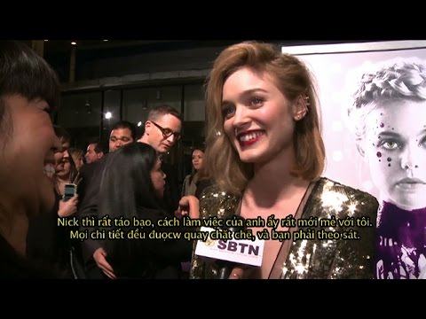 'THE NEON DEMON' (2016) Los Angeles Red Carpet Premiere w/ Bella Heathcote, Keanu Reeves & more