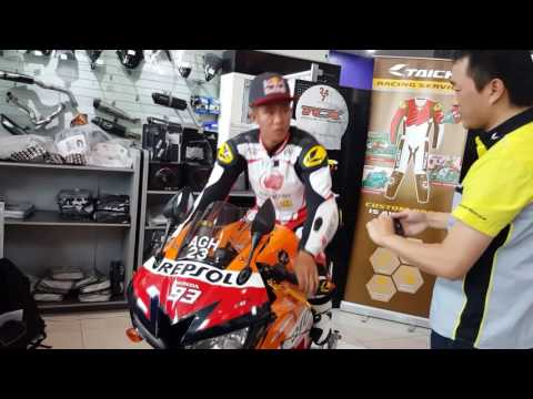 MinistryOfSuperbike: Khairul Idham Pawi Trying Out His New Suit
