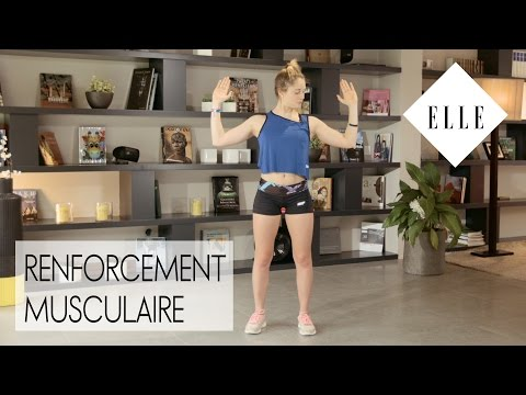 Cours de renforcement musculaire avec Marine Leleu┃ELLE Fitness
