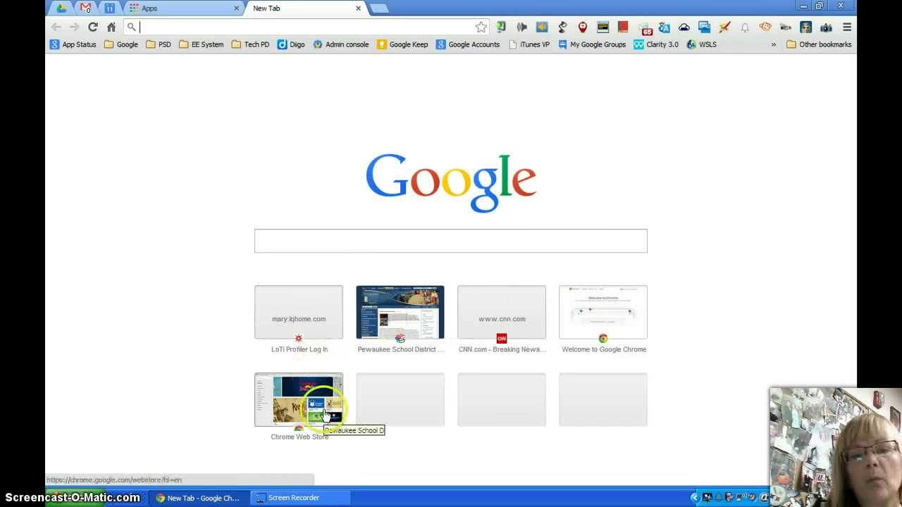 Apps Shortcut for New Tab in Chrome