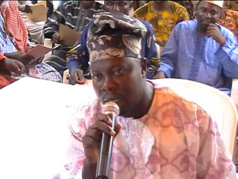 El-Hadj Machkouri OSSENI (père de l´Imam Ismail OSSENI basé à libreville au Gabon)