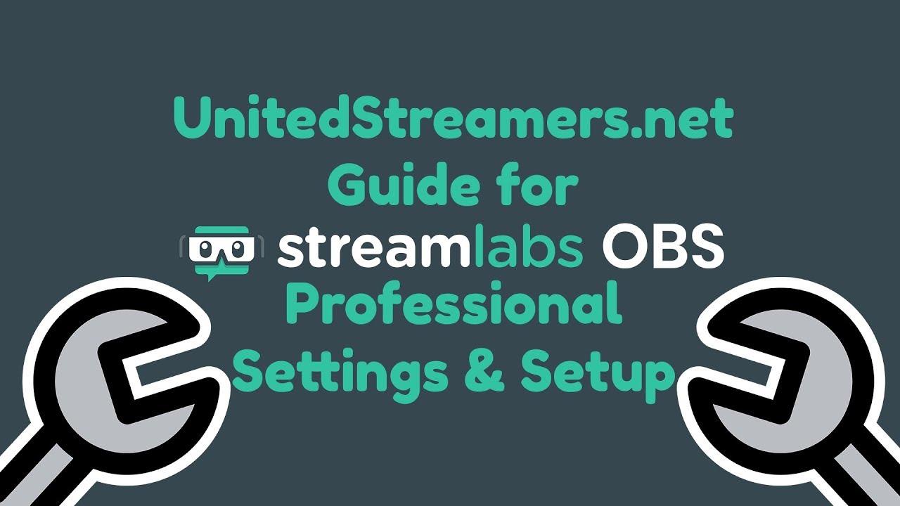 How to Professionally Setup Streamlabs OBS Slobs