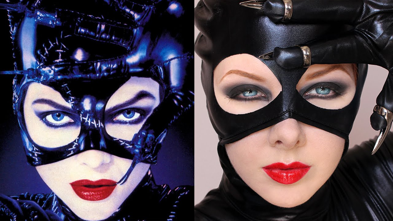 Transforming Into: CATWOMAN | Makeup Tutorial - YouTube