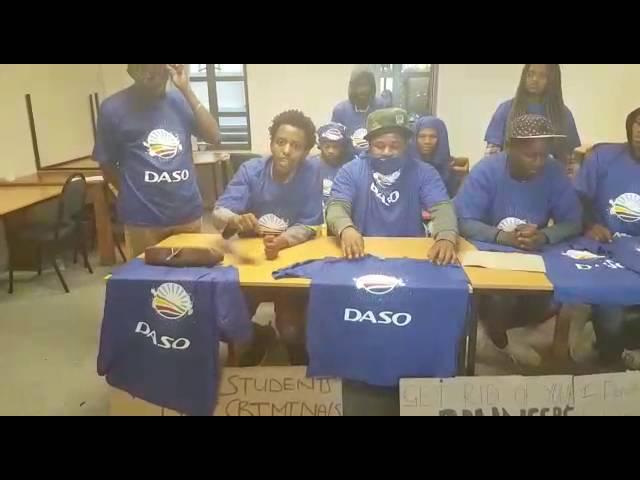 DASO Black progressive caucus press conference