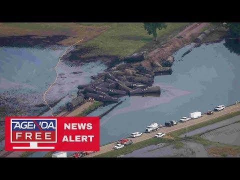 230,000 Gallon Oil Spill in Iowa - LIVE COVERAGE