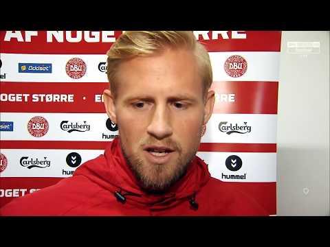 Denmark v Republic of Ireland - pre-match interview - Kasper Schmeichel (10/11/17)