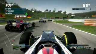 F1 2012 Gameplay Ita PC Gran Premio Di Budapest - Ultima goccia di carburante -