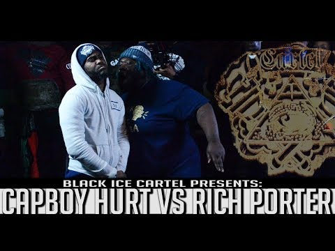 CAPBOY HURT VS RICH PORTER || BLACK ICE CARTEL || COLD CASE || RAP BATTLE