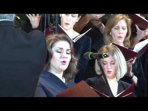 Концерт объединенного хора Московских храмов