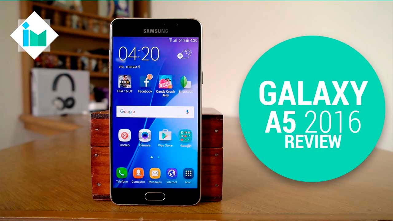 samsung galaxy a5 2016 review en espa ol youtube. Black Bedroom Furniture Sets. Home Design Ideas