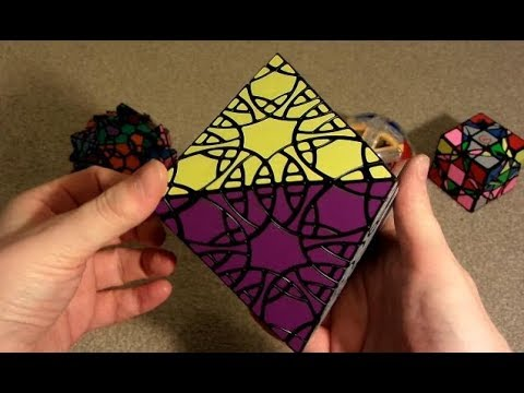 ZCube Unboxing: Dayan Axis Ball, Dreidel 3x3, VeryPuzzle Clover Icosahedron & Fragmented Octahedron