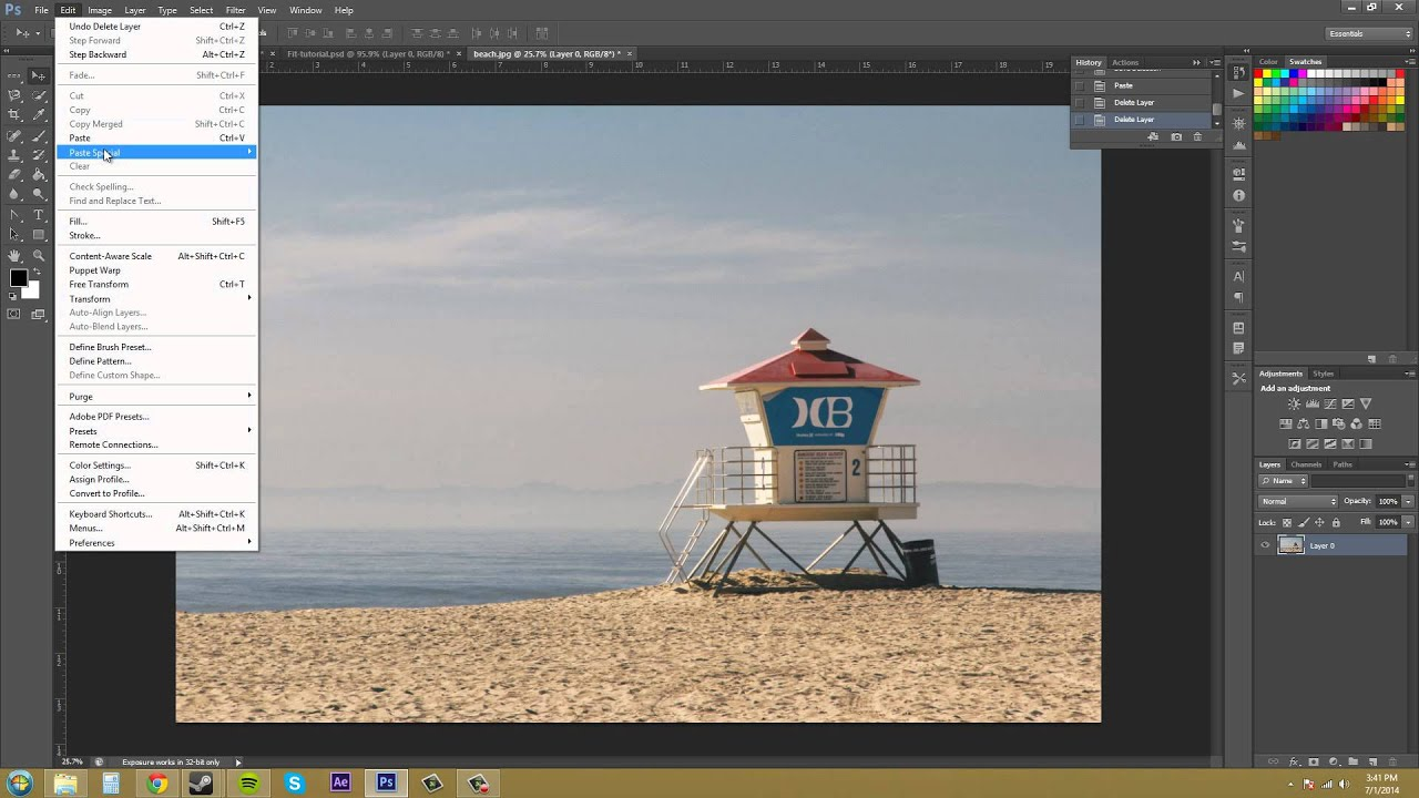 How to cut and paste in photoshop 36