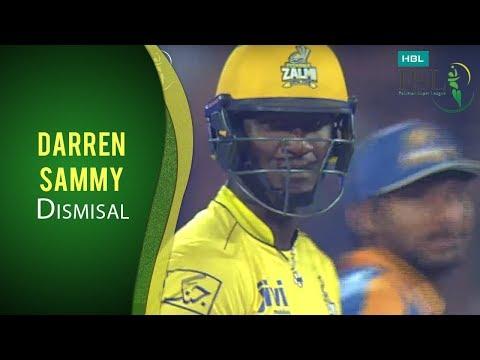 PSL 2017 Match 13: Darren Sammy Caught Chris Gayle Bowled Sohail Khan