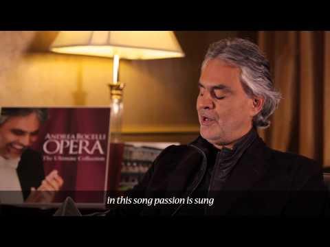 Andrea Bocelli - RECITAR! ...VESTI LA GIUBBA - Pagliacci (Commentary)