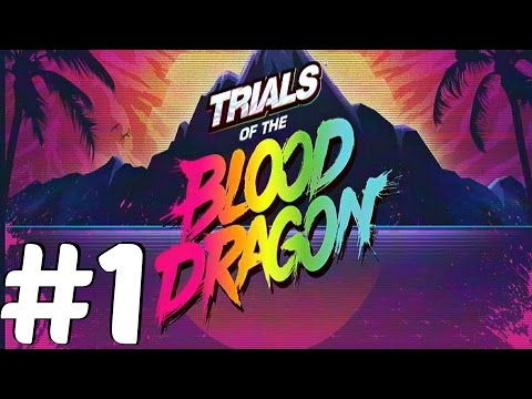 Trials of The Blood Dragon (PS4) - Gameplay Walkthrough Part 1 - Prologue [1080p 60fps]