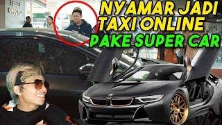 ATTA NYAMAR JADI TAXI ONLINE Pakai SUPER CAR!! Part 1