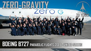 Zero G Boeing B727-200 - Parabolic Flight In USA - 2005