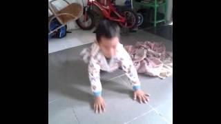 hanif break dance ( lagu armada )