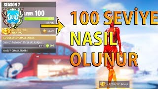 100. HOW PHASES And LEVEL SKIPPED (Turkish Fortnite)