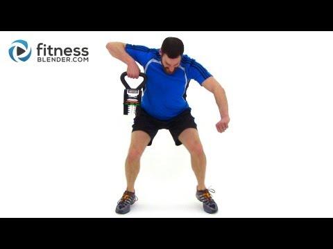 Full Length KettleBell Workout Video - Total Body Kettlebell Routine