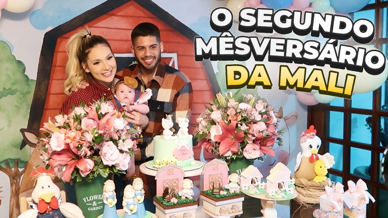 COMEMORAMOS O SEGUNDO MÊSVERSÁRIO DA MALI!!