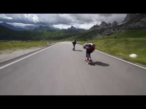 These Downhill Skateboarders Are Way Too Fast