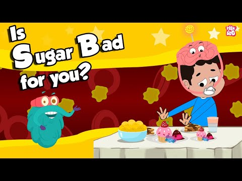 Is Sugar Bad For You? | What SUGAR Does To Our Body? | Dr Binocs Show | Peekaboo Kidz