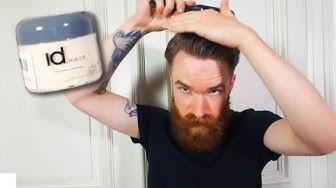 Ersteindruck: idHair Extreme Titanium Haarwachs | Test Männer Haarstyling