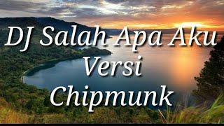 Download Mp3 Dj Salah Apa Aku || Versi Chipmunk ||   Entah Apa Yang Merasukimu   || Full Bass
