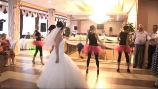 Свадьба  Невеста зажигает