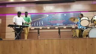 This a live performance of #mangatha bgm ajit ghising songs ajith aegan emotional entry evergreen gambler son...