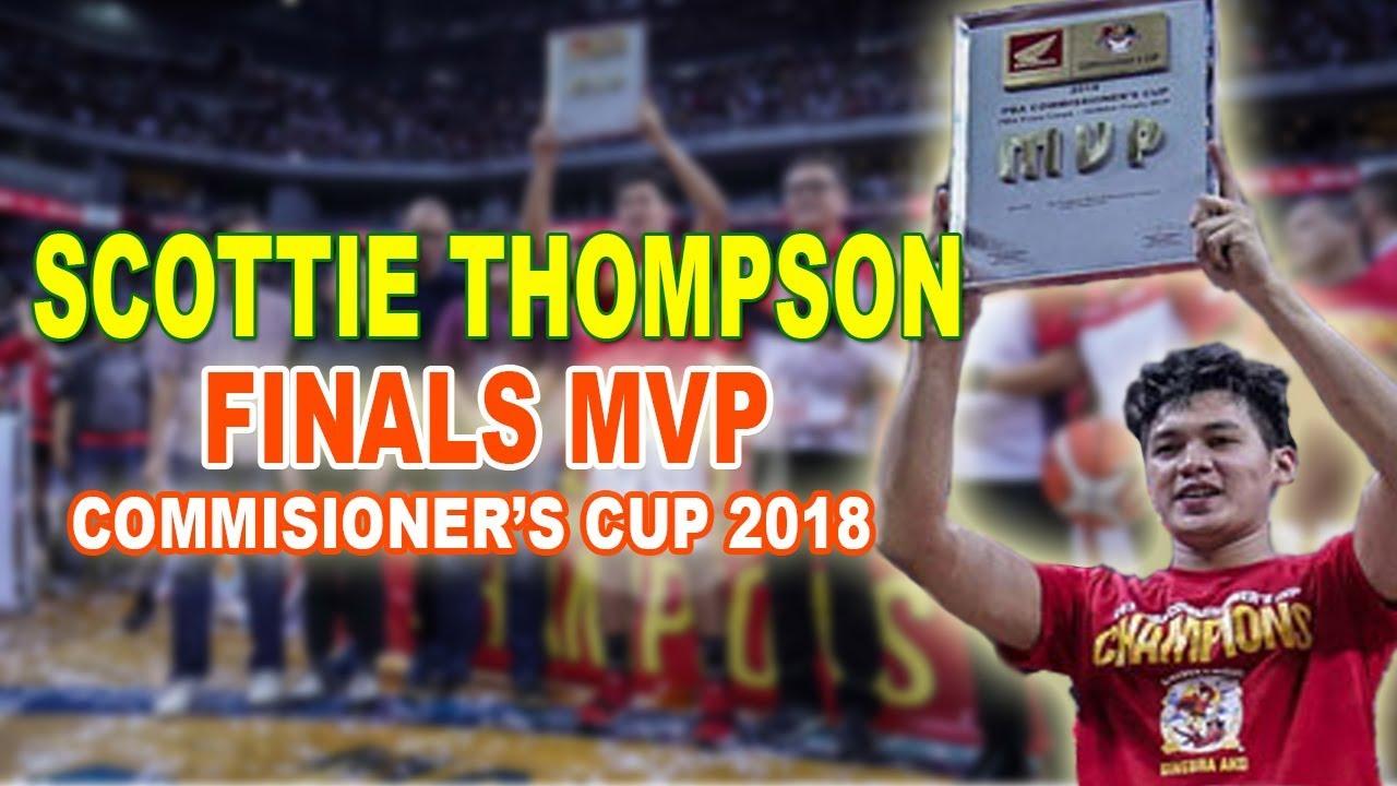 Download SCOTTIE THOMPSON FINALS MVP   PBA Commisioner's Cup 2018