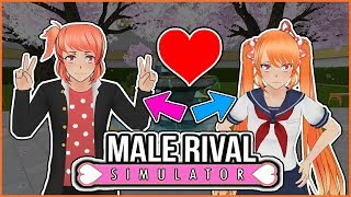 MALE RIVALS ADDED TO YANDERE SIMULATOR?! - Male Rivals Mod Yandere Simulator