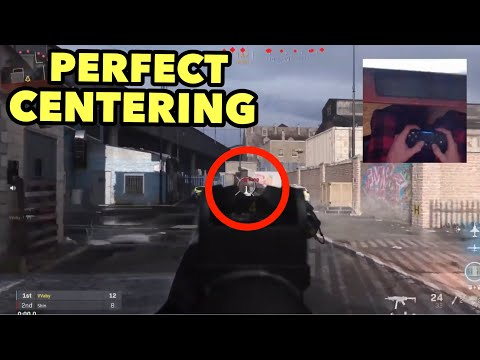 How to Have PERFECT CENTERING & SNAP AIM LIKE A PRO PLAYER in MODERN WARFARE... (Handcam Tutorial)