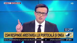 CSM respinge arestarea lui Portocală și a lui Onea. Reacția lui Mihai Gâdea