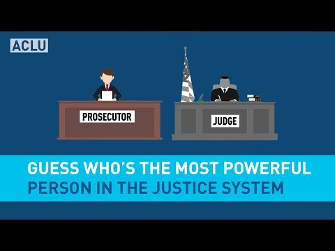 Guess Who's the Most Powerful Person In The Justice System