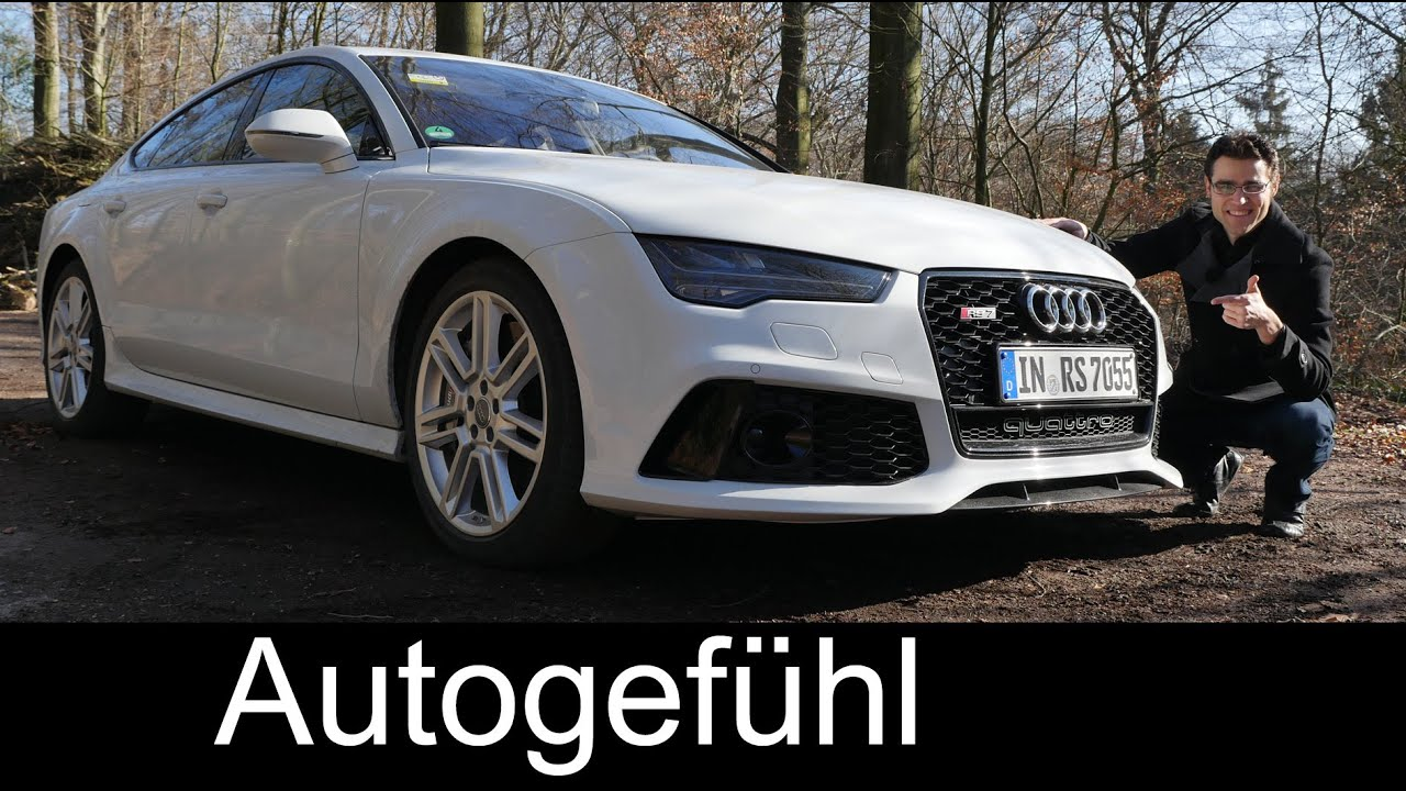 20162015 Audi Rs7 Facelift Quattro Test Drive Full Review 560 Hp
