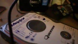 Maxtor 6L250R0 250GB 7200RPM IDE PATA/133 QUICKVIEW HARD DRIVE FAILURE!