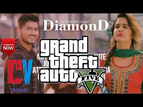 Diamond | Gurnam Bhuller | Gta V | Punjabi...